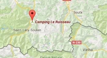 camping pyrenees