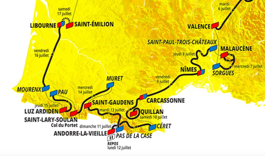 course cycliste saint lary