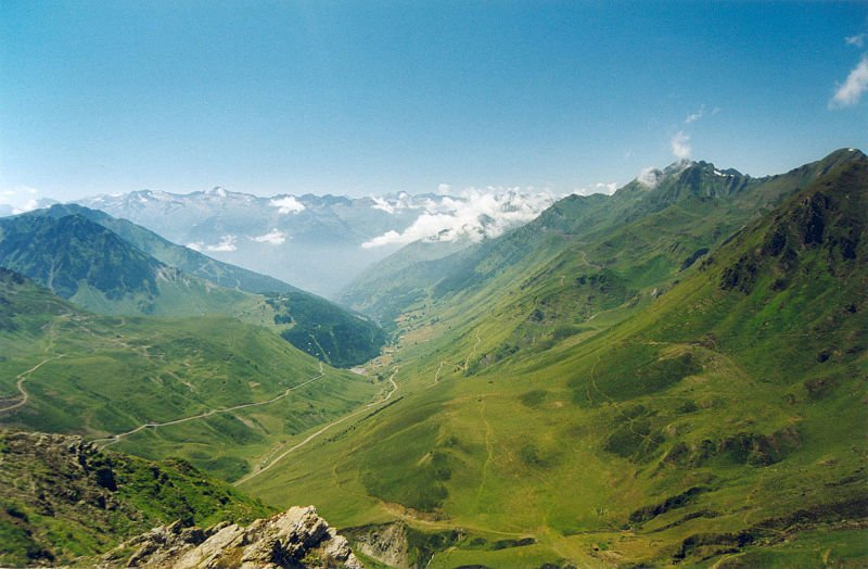 col tourmalet-camping le ruisseau